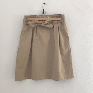 A New Day Paper Bag Skirt
